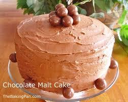 chocolate malt cake recipe thebakingpan com
