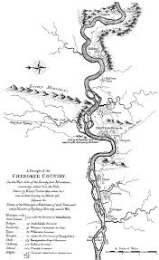 Map Of Tennessee River by Tuskegee Cherokee Town Wikipedia