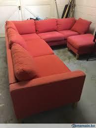 canapé d angle 6 places canapé d angle 6 places avec pouf a vendre 2ememain be