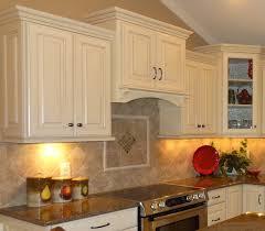 backsplash tile ideas for kitchens glass brownbinets small kitchen