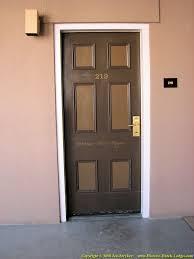 saint james hotel room door
