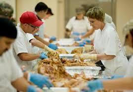 15 000 expected at thanksgiving dinner outside honda center