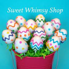 easter cake pops items similar to 12 easter egg cake pops for easter basket egg