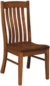 Mission Style Dining Chairs Houghton Dining Chair Indiana Amish Dining Chair Mission Style
