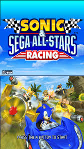 sonic sega all racing apk sonic sega all racing u rom nds roms emuparadise