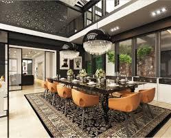 minimalist classic modern interior design with classic asian