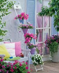 blumen fã r balkon chestha idee treppe balkon