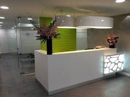 Salon Reception Desk Furniture Organic Reception Desk Project In By Gxi Furniture
