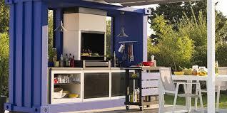 jardin de cuisine photo cuisine exterieure jardin idées décoration intérieure
