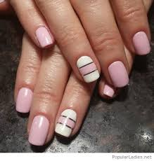 and white nails design