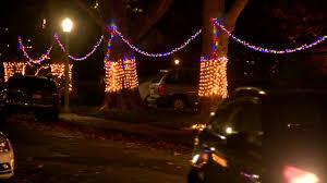 christmas light tour sacramento east sacramento holiday lights 2017 youtube