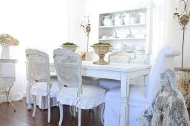 fancy chair covers shabby chic dining room chair covers 13465