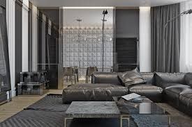 masculine sofas 4 masculine apartments with super comfy sofas and sleek color palettes