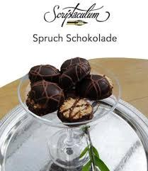 sprüche über schokolade scriptaculum