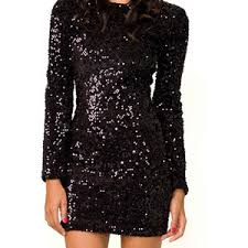 sparkling dresses for new years sale new years sequin black dress plus size polyvore