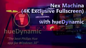 best app for hue lights nex machina gaming with hue lights and huedynamic app for windows