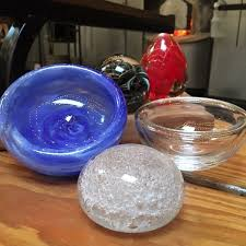 dga1 paperweights and bubble bowls