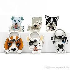 acrylic dog ring holder images 2018 universal 360 degree pet dog pattern finger ring holder phone jpg