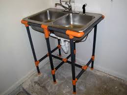 pvc sink stand make