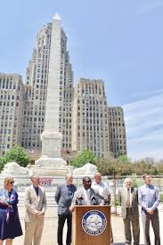 mayor brown announces start of architectural restoration of the