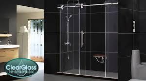 sliding glass door protection bathroom frameless sliding shower doors lowes shower glass door