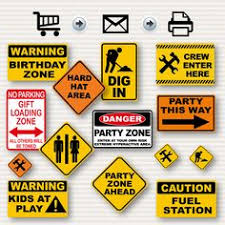 Construction Party Centerpieces by Construction Birthday Large Party Signs Under By Fancythatstudio
