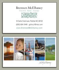 Business Cards Mini Artist U0027s Business Cards U2013 Mini Portfolio Bmcelhaney Studio