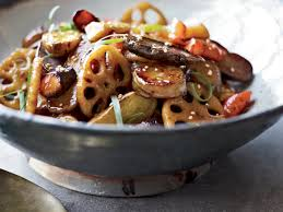 Chinese Root Vegetables - maple root vegetable stir fry with sesame recipe david chang