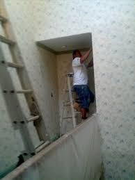 wallpaper removal by zelaya jr painting