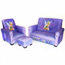 delta childrens disney tinker bell fairies toddler sofa chair