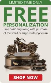 motorcycle urns on the road orange motorcycle urn cremation urns urn and