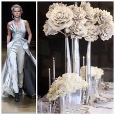 Silver Wedding Centerpieces by 64 Best All Whiteparty Inspirations Images On Pinterest Wedding