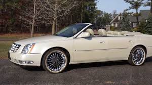 review of 2009 cadillac dts deville convertible low miles