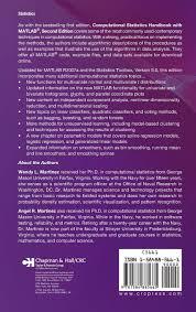 computational statistics handbook with matlab 2nd edition