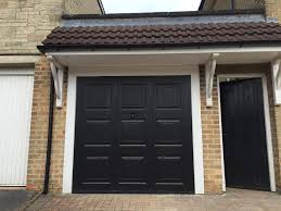 reduced for quick sale black steel georgian style single garage