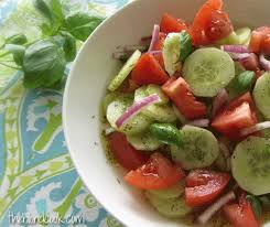 Garden Salad Ideas Tomato Salad