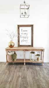 Entry Table Decor by Whimzical Woods Giveaway White Lane Decor