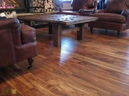 scraped wood flooring durability