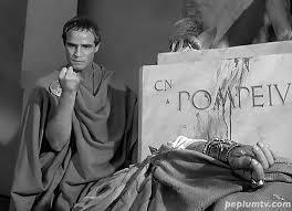 bureau de change antony by the gods marlon brando as antony in shakespeare s