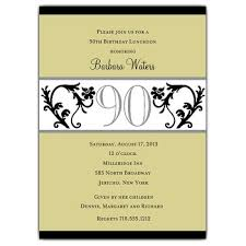 90th Birthday Invitations Templates 90 years birthday invitation templates printable free invitations