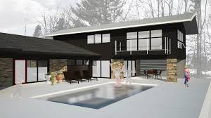 outstanding mid century modern home renovation images design ideas