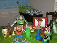 Buzz Lightyear Centerpieces by The Party Wall Toy Story Party Miles U0027 Toy Story Party