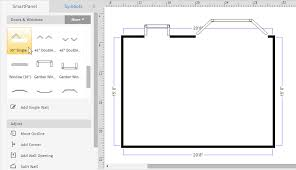 build a floor plan how to draw a floor plan with smartdraw