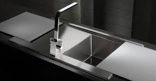 Black Glass Kitchen Sinks Glass Sink Kitchen Home Design Ideas