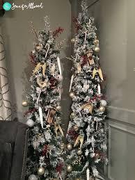 skinny pencil christmas trees holiday deorating magic brush