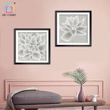 nordic decoration nordic decoration mysterious and holy flowers wall picture for