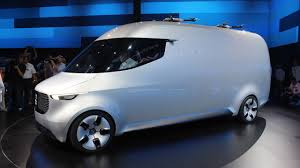 mercedes minivan mercedes vision van concept marks renewed focus on commercial vehicles