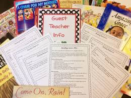 instant lesson plans for any book perfect for substitutes