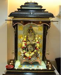 Home Temple Decoration Ideas Pooja Room Designs In Hall Pooja Room Home Temple Pooja Ghar