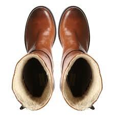 tan biker boots dune redditch zip and buckle biker boots in brown lyst